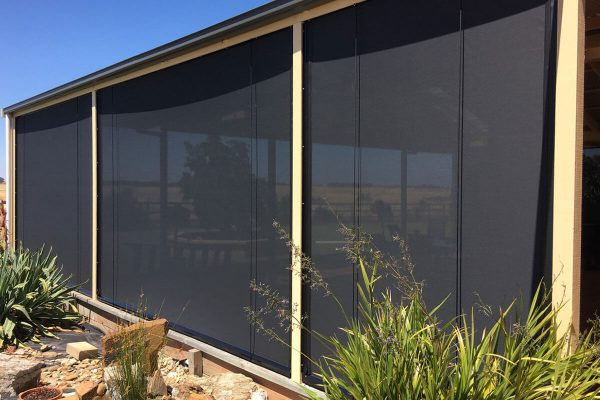Aussie Outdoor Australian Made Outdoor Blinds - Alfresco Classic Cafe