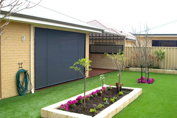Aussie Outdoor Australian Made Outdoor Blinds - Alfresco Classic Patio Privacy