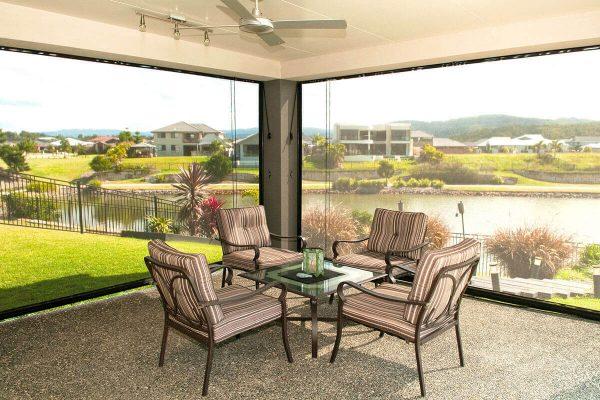 Aussie Outdoor - Australian Made Outdoor Blinds - Alfresco Classic - Waterfront