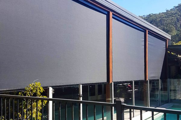 Interlock Zipless Channel Outdoor Blinds